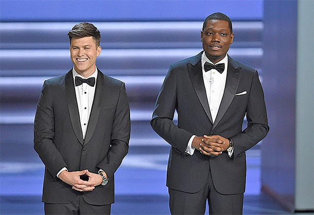 Emmys Opening Number Mockingly Pats Hollywood on the Back for Progress on Diversity: 'We Solved it!'
