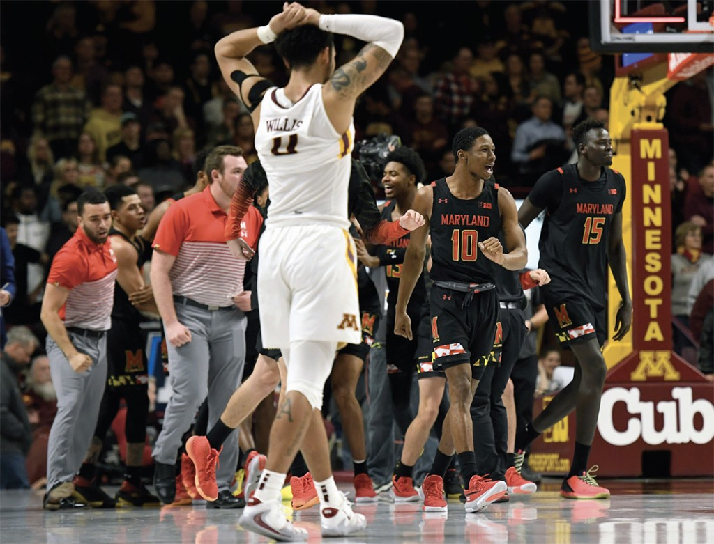 Ranked teams meet as No. 9 Maryland hosts No